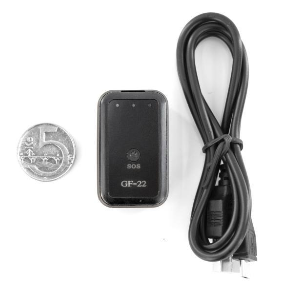 OXE GF-22 - GPS lokátor a SIM karta
