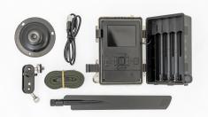 Fotopast OXE Spider 4G + 32GB SD karta, SIM, stativ, 8ks baterií a doprava!