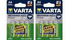 Varta 56706 R6 2100mAh NIMH basic - Nabíjecí baterie, 8 ks